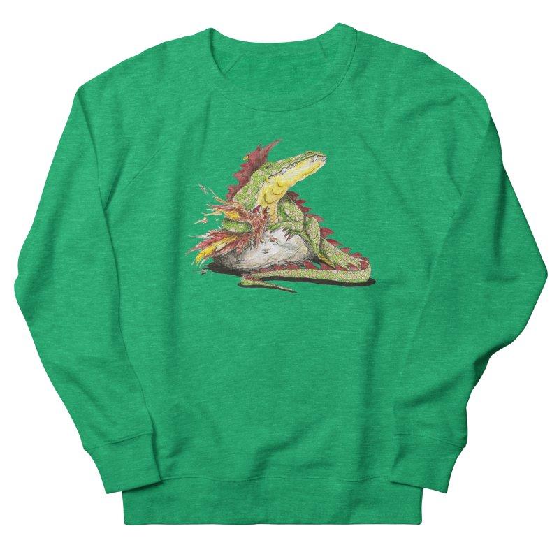 Lizard King, Chicken for Lunch Women's Sweatshirt by mybadart's Artist Shop