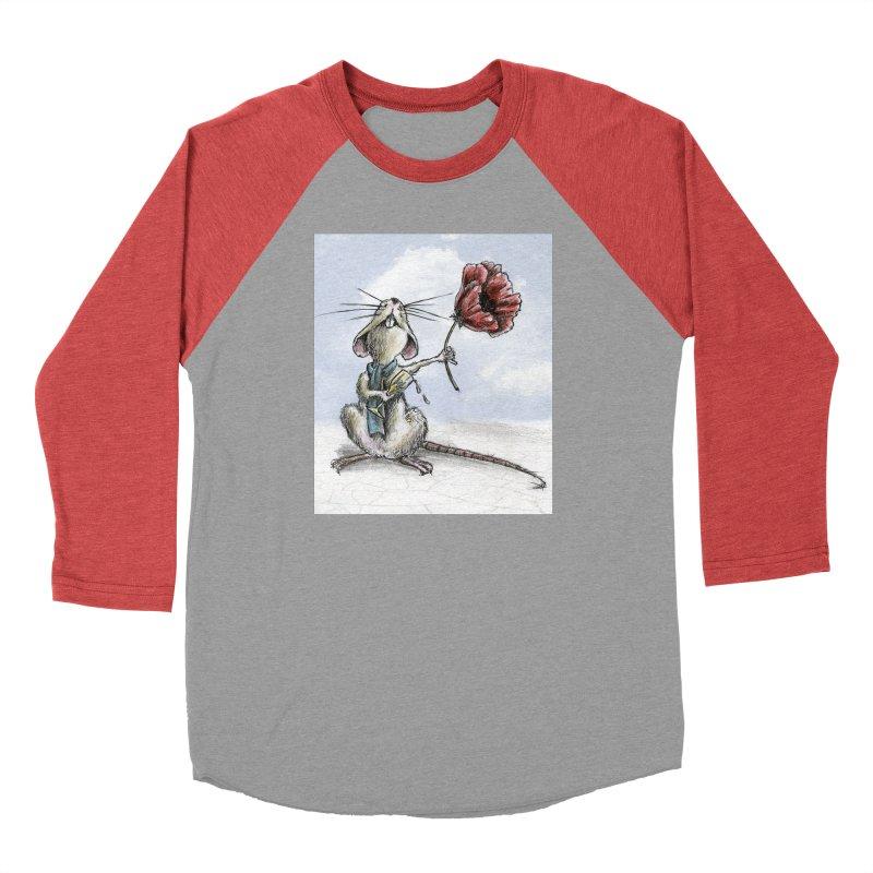 Rat and Poppy - have a flower Men's Longsleeve T-Shirt by mybadart's Artist Shop