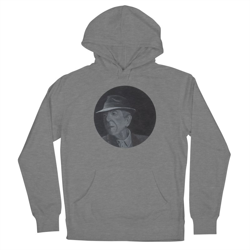 Leonard Cohen Women's Pullover Hoody by mybadart's Artist Shop