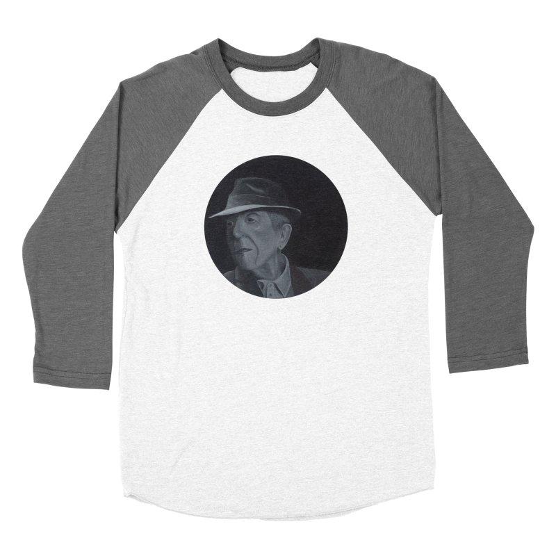 Leonard Cohen Women's Longsleeve T-Shirt by mybadart's Artist Shop