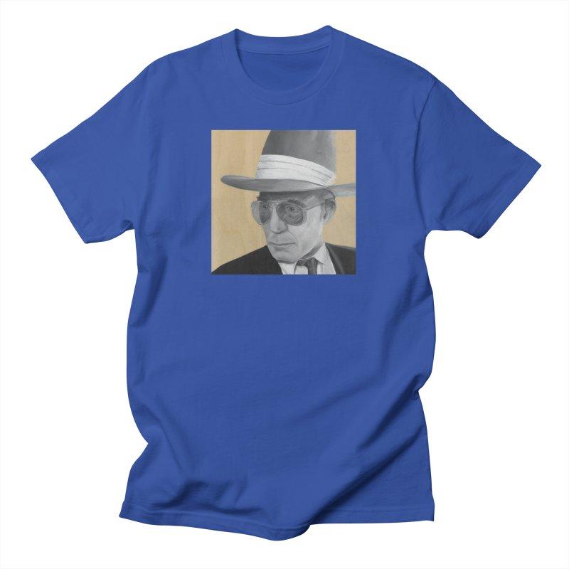 Hunter S. Thompson Men's T-Shirt by mybadart's Artist Shop
