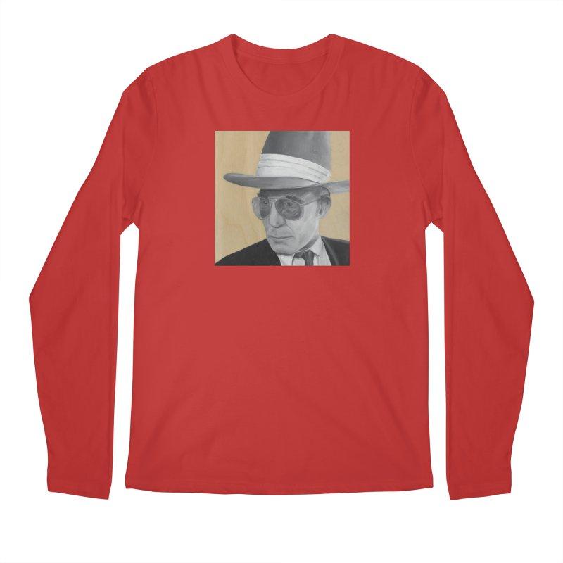 Hunter S. Thompson Men's Regular Longsleeve T-Shirt by mybadart's Artist Shop