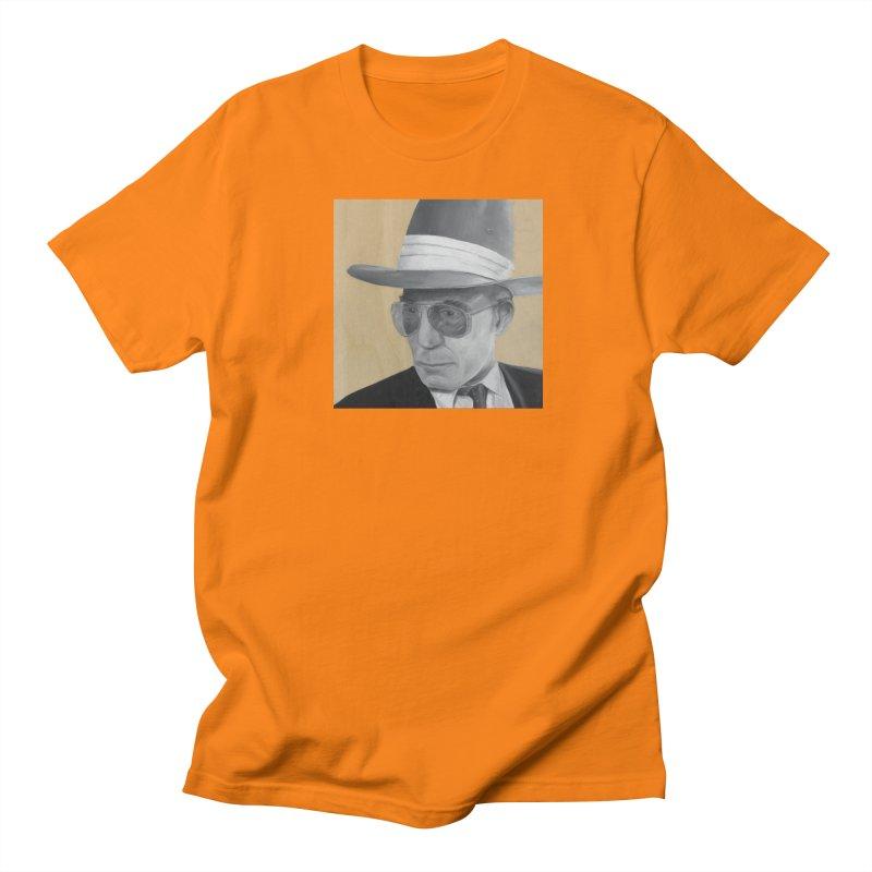 Hunter S. Thompson Women's Regular Unisex T-Shirt by mybadart's Artist Shop