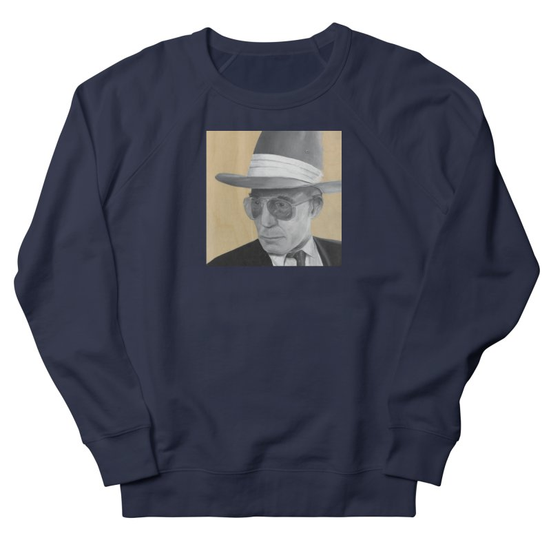 Hunter S. Thompson Women's Sweatshirt by mybadart's Artist Shop