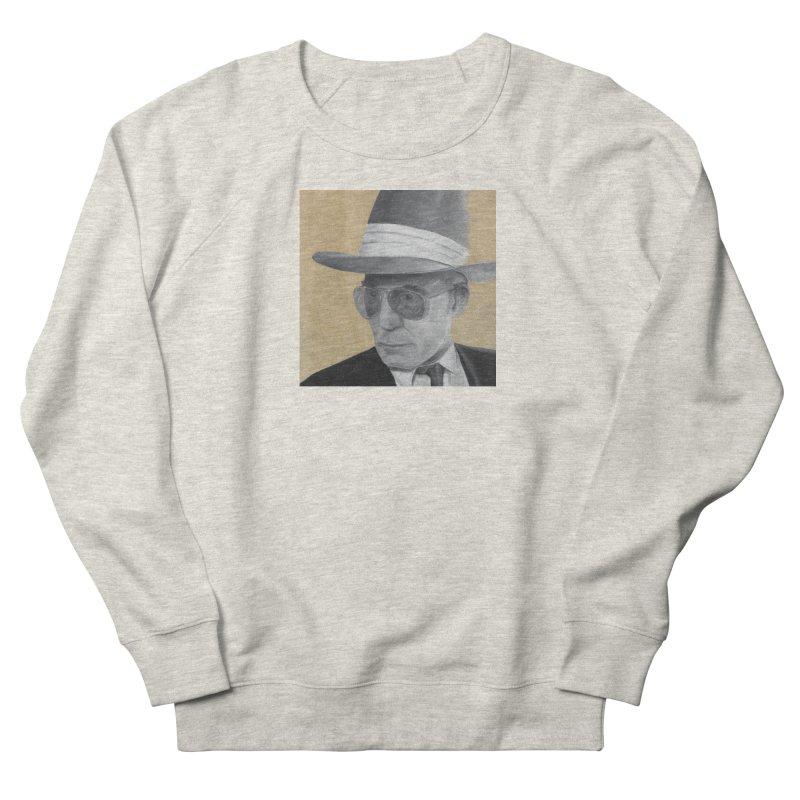 Hunter S. Thompson Women's Sweatshirt by mybadart's Artist Shop