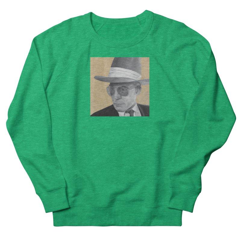 Hunter S. Thompson Men's French Terry Sweatshirt by mybadart's Artist Shop