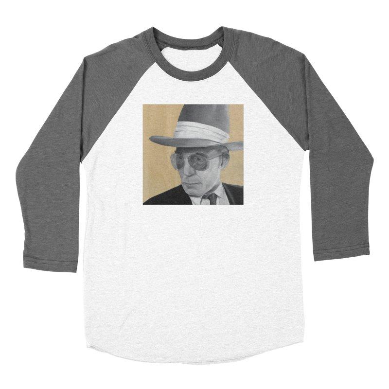 Hunter S. Thompson Women's Baseball Triblend Longsleeve T-Shirt by mybadart's Artist Shop