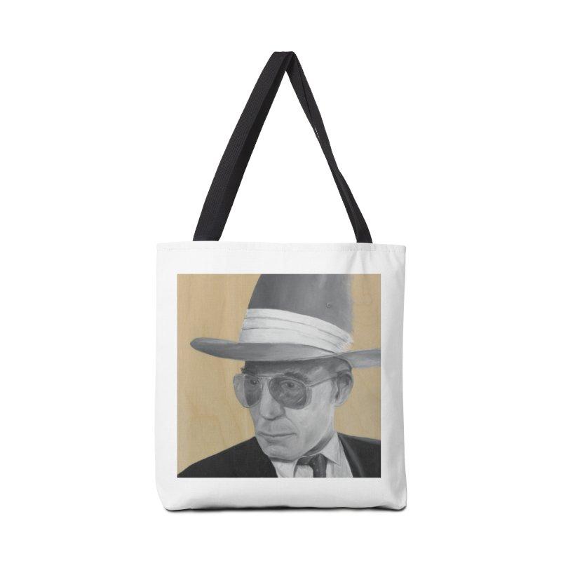 Hunter S. Thompson Accessories Tote Bag Bag by mybadart's Artist Shop