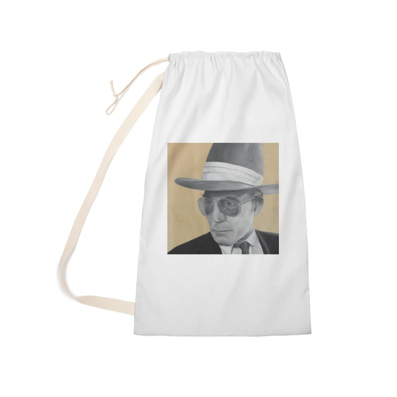 Hunter S. Thompson Accessories Laundry Bag Bag by mybadart's Artist Shop