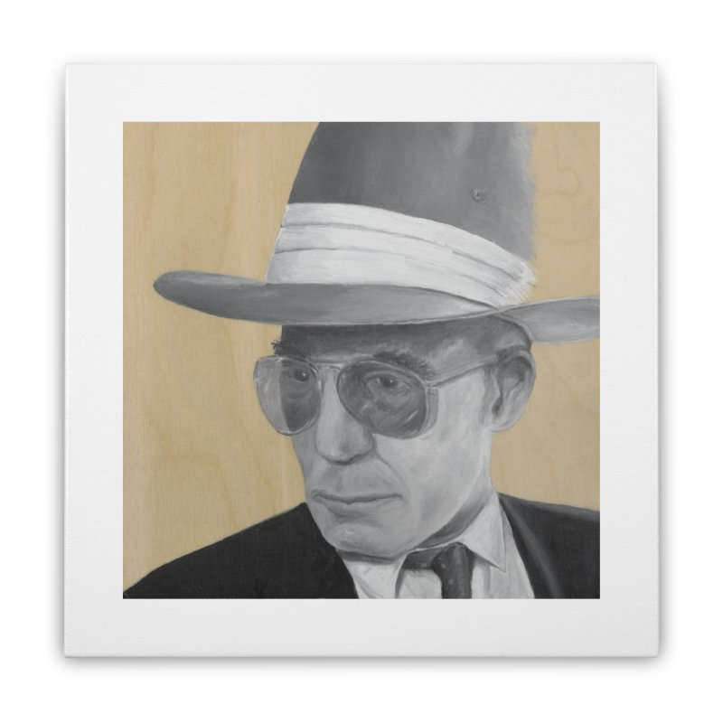 Hunter S. Thompson Home Stretched Canvas by mybadart's Artist Shop