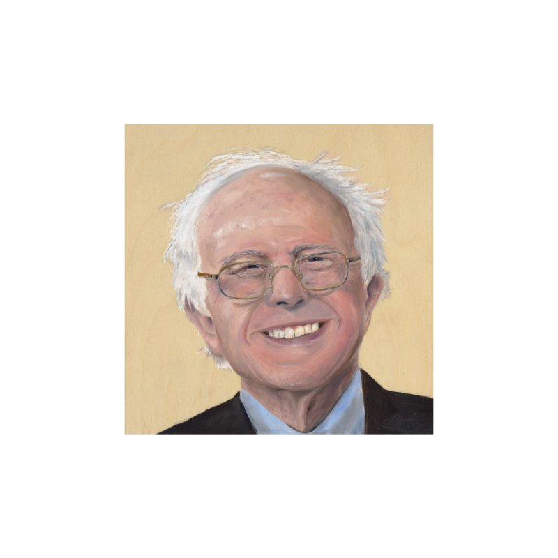 Bernie Sanders Home Bath Mat by mybadart's Artist Shop