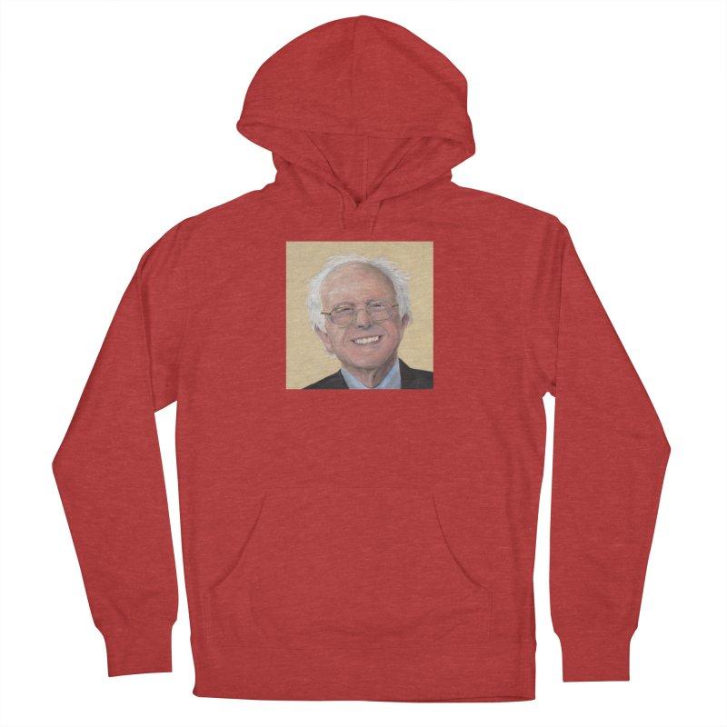 Bernie Sanders Men's French Terry Pullover Hoody by mybadart's Artist Shop