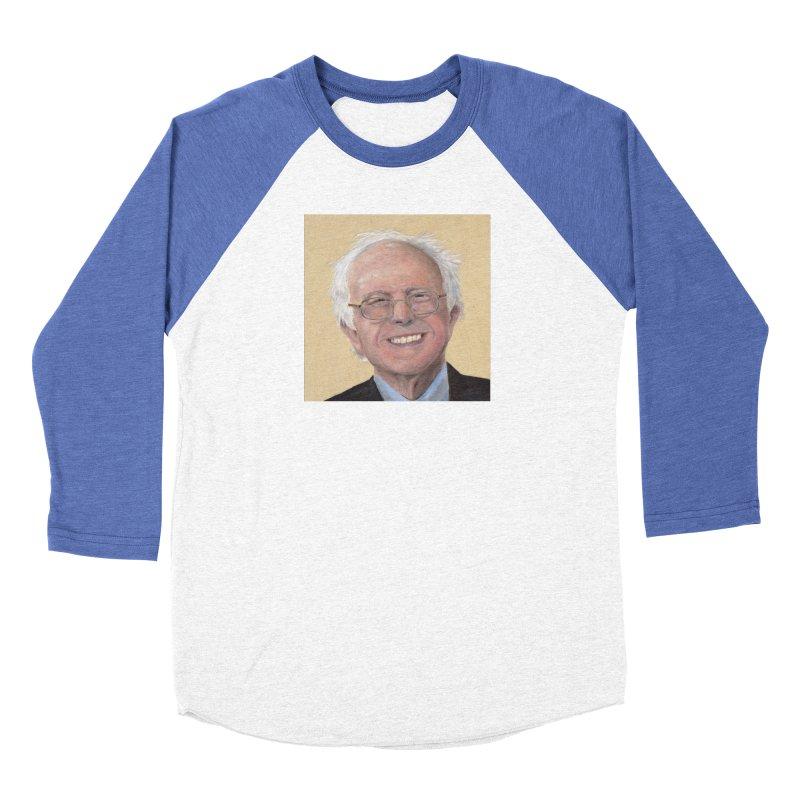 Bernie Sanders Men's Baseball Triblend Longsleeve T-Shirt by mybadart's Artist Shop