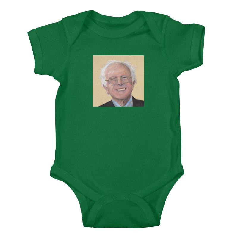 Bernie Sanders Kids Baby Bodysuit by mybadart's Artist Shop