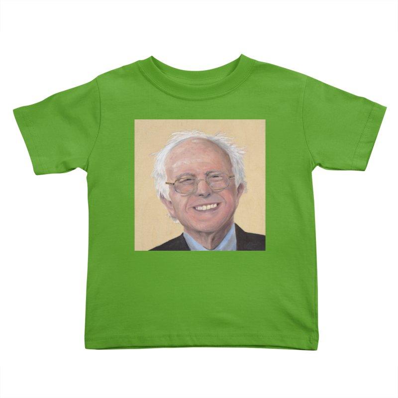 Bernie Sanders Kids Toddler T-Shirt by mybadart's Artist Shop