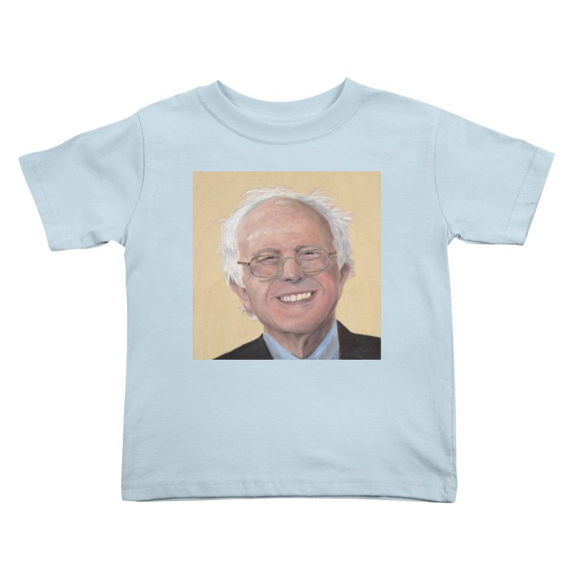 Bernie Sanders Kids Toddler T-Shirt by mybadart's Artist Shop