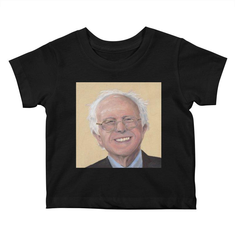 Bernie Sanders Kids Baby T-Shirt by mybadart's Artist Shop