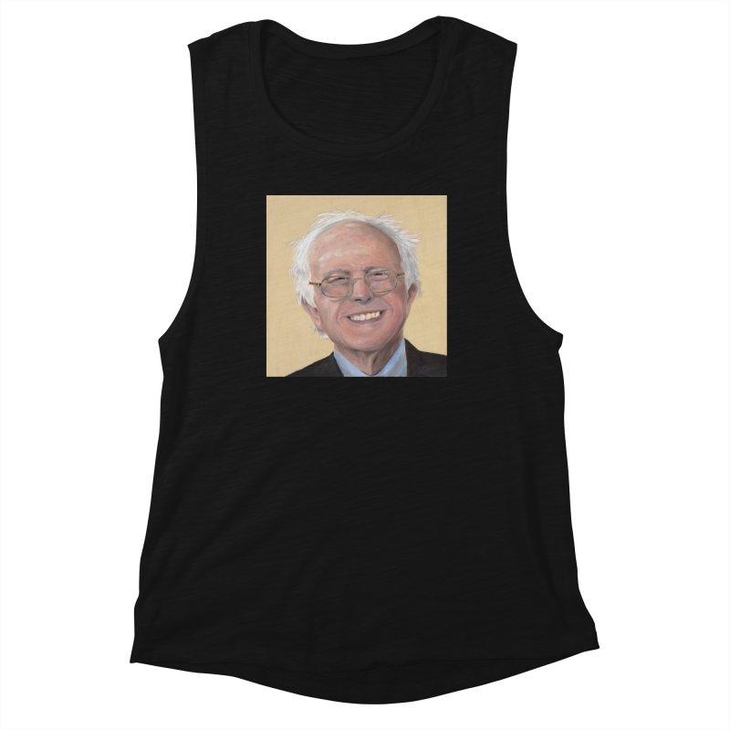 Bernie Sanders Women's Tank by mybadart's Artist Shop