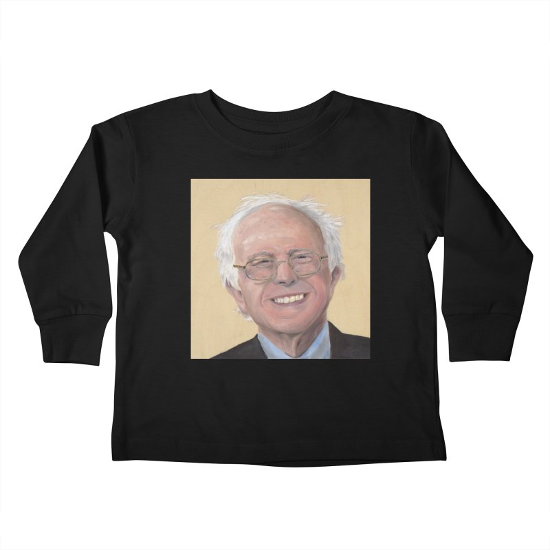 Bernie Sanders Kids Toddler Longsleeve T-Shirt by mybadart's Artist Shop