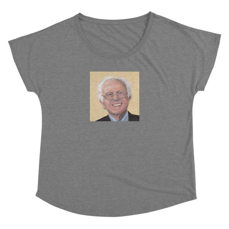 Bernie Sanders Women's Dolman Scoop Neck by mybadart's Artist Shop