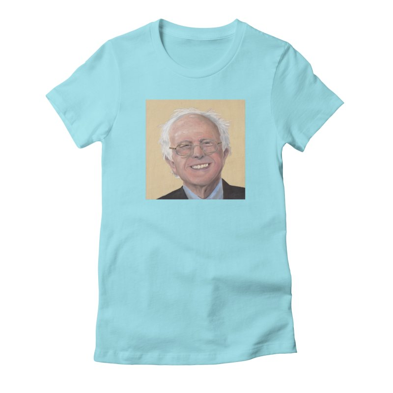 Bernie Sanders Women's T-Shirt by mybadart's Artist Shop