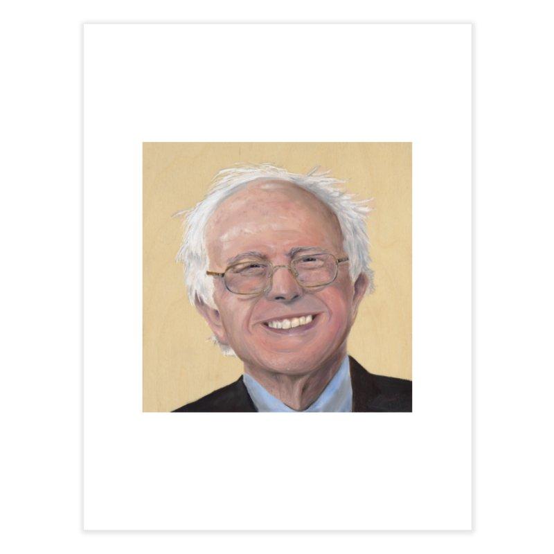 Bernie Sanders Home Fine Art Print by mybadart's Artist Shop