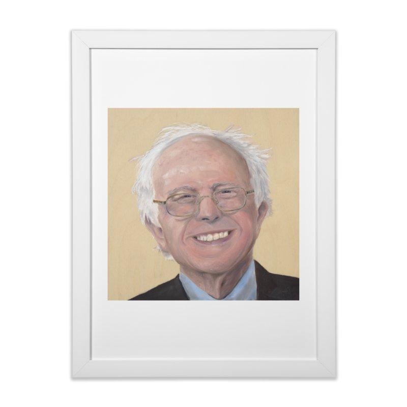 Bernie Sanders Home Framed Fine Art Print by mybadart's Artist Shop