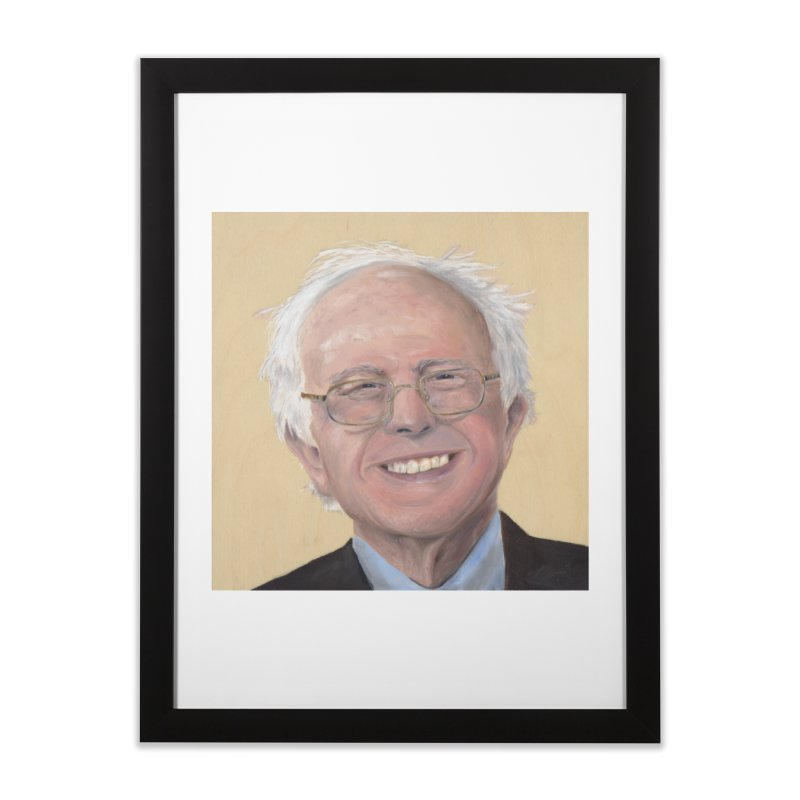 Bernie Sanders Home Framed Fine Art Print by mybadart's Artist Shop