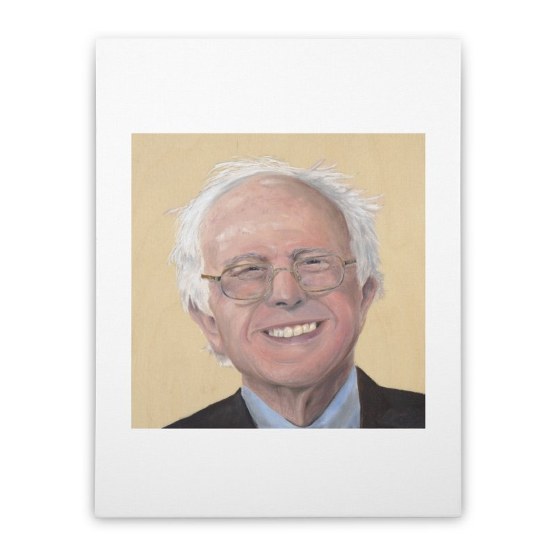 Bernie Sanders Home Stretched Canvas by mybadart's Artist Shop