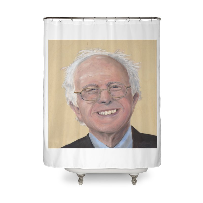 Bernie Sanders Home Shower Curtain by mybadart's Artist Shop