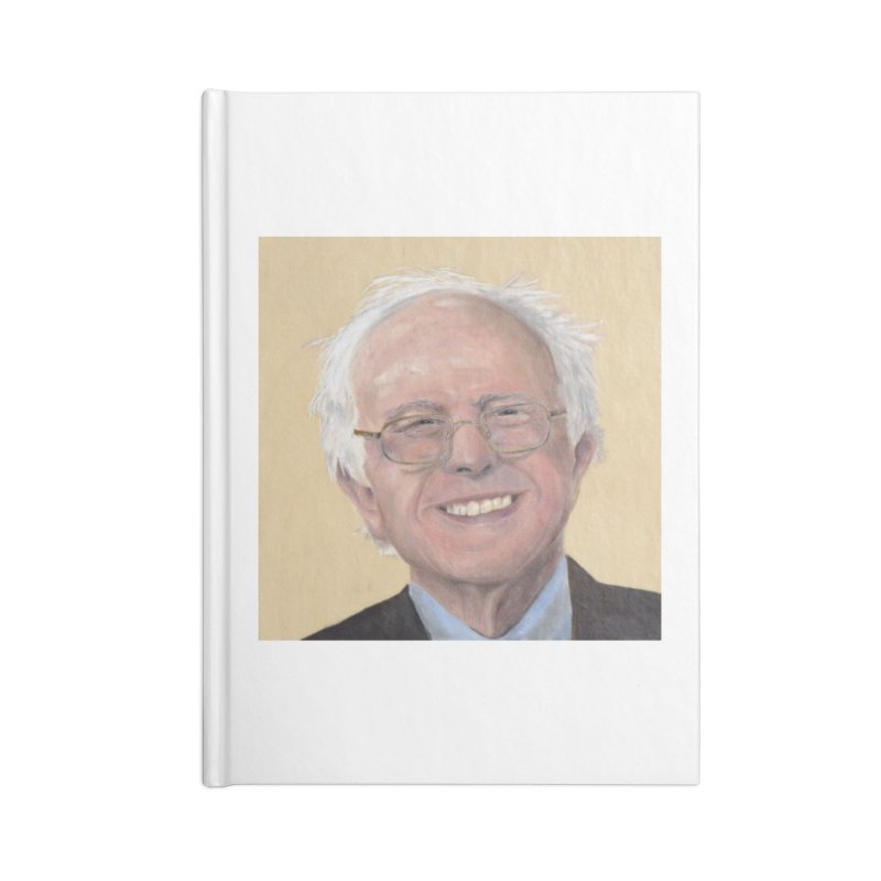 Bernie Sanders Accessories Blank Journal Notebook by mybadart's Artist Shop