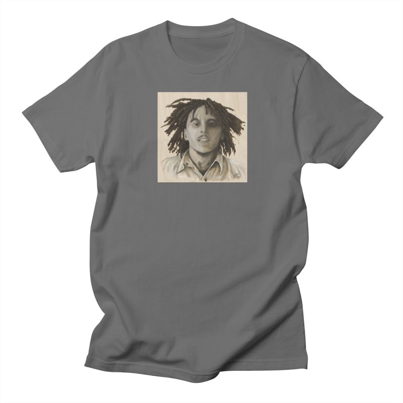 Bob Marley Women's T-Shirt by mybadart's Artist Shop