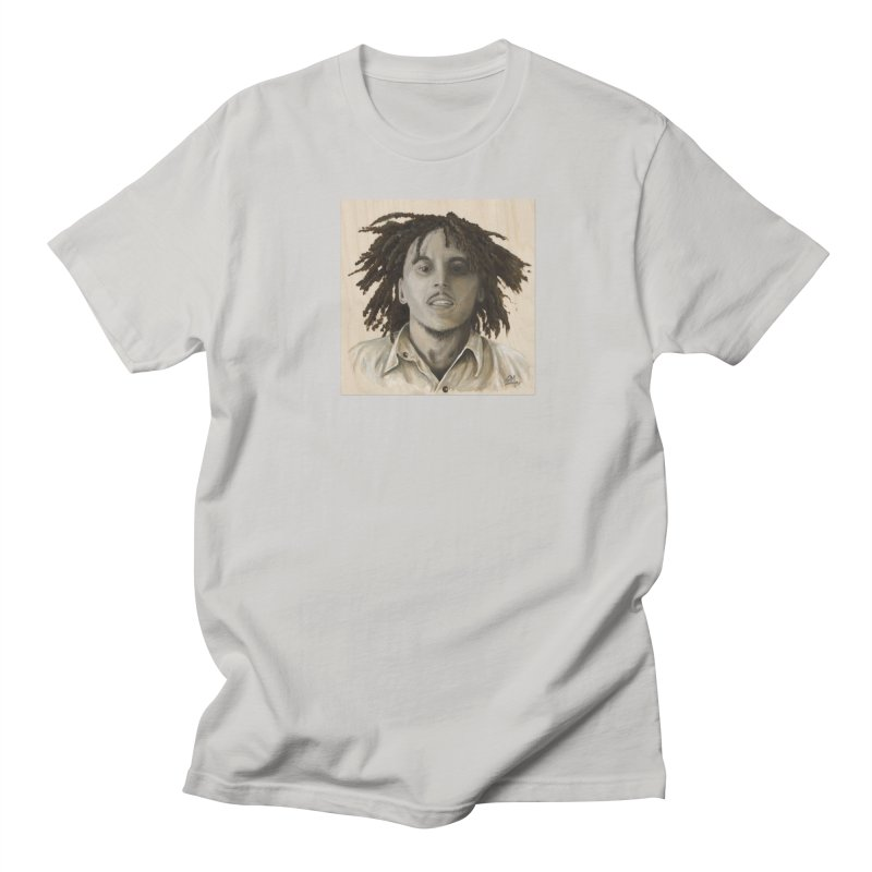 Bob Marley Women's Regular Unisex T-Shirt by mybadart's Artist Shop