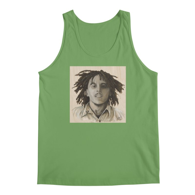 Bob Marley Men's Tank by mybadart's Artist Shop