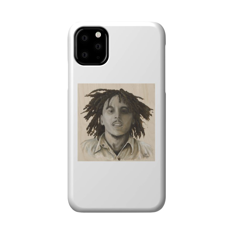 Bob Marley Accessories Phone Case by mybadart's Artist Shop