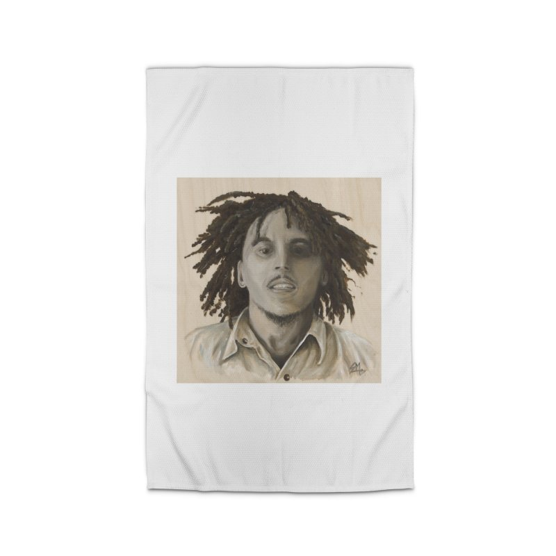 Bob Marley Home Rug by mybadart's Artist Shop
