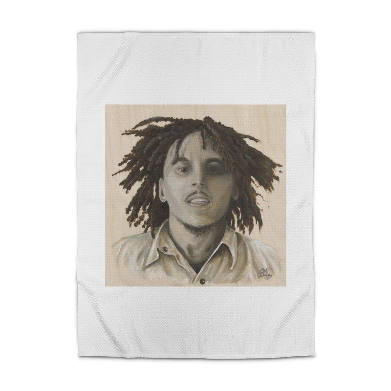 Bob Marley Home Rug by mybadart's Artist Shop