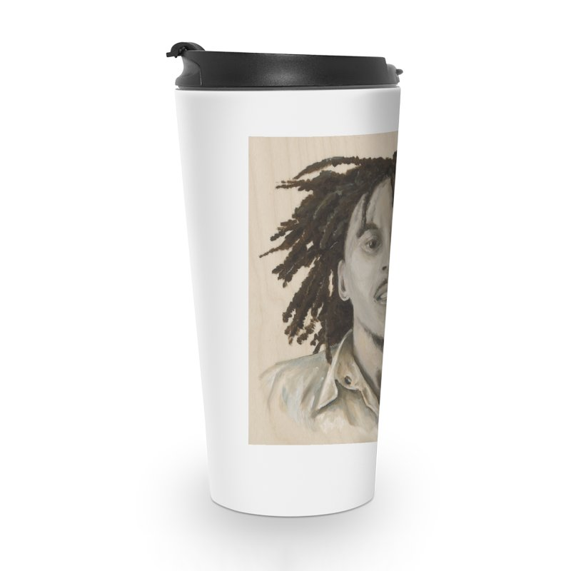 Bob Marley Accessories Travel Mug by mybadart's Artist Shop