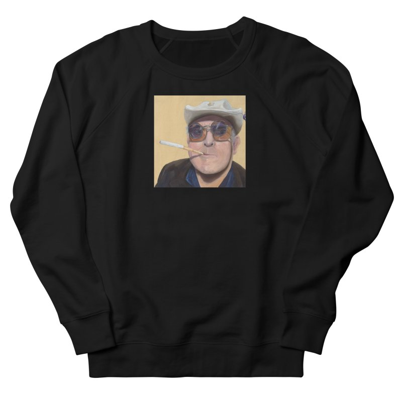 Ralph Steadman Women's French Terry Sweatshirt by mybadart's Artist Shop
