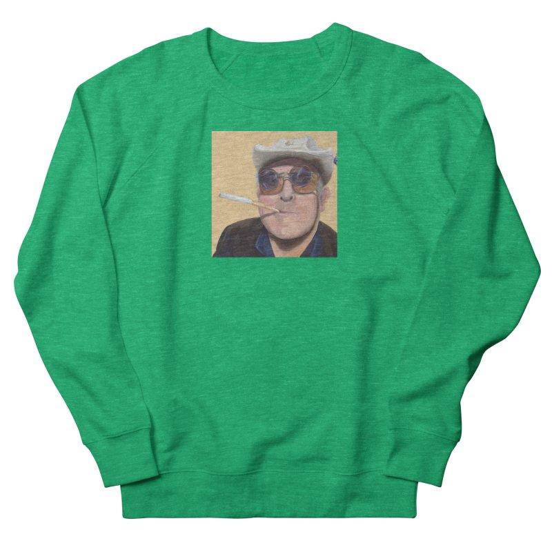 Ralph Steadman Men's French Terry Sweatshirt by mybadart's Artist Shop