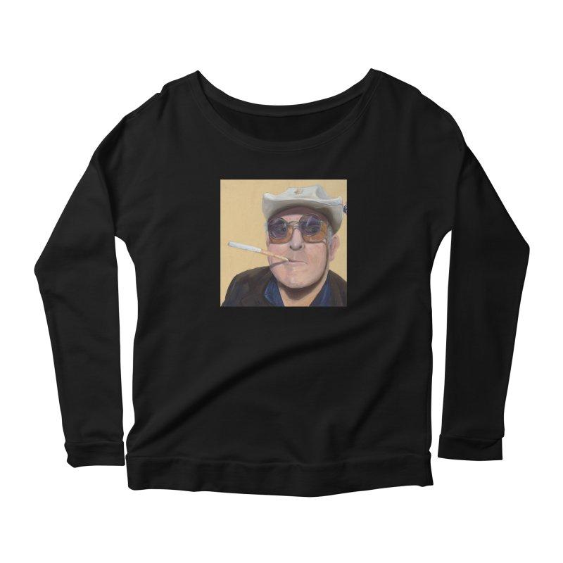 Ralph Steadman Women's Scoop Neck Longsleeve T-Shirt by mybadart's Artist Shop