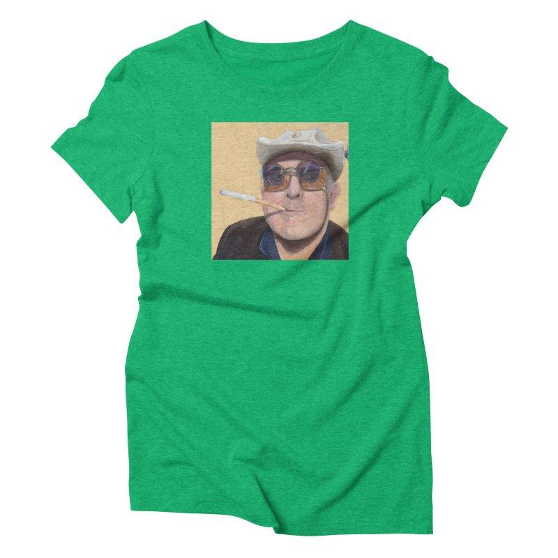 Ralph Steadman Women's Triblend T-Shirt by mybadart's Artist Shop