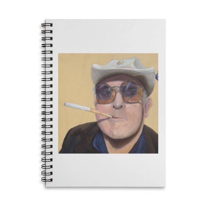 Ralph Steadman Accessories Lined Spiral Notebook by mybadart's Artist Shop