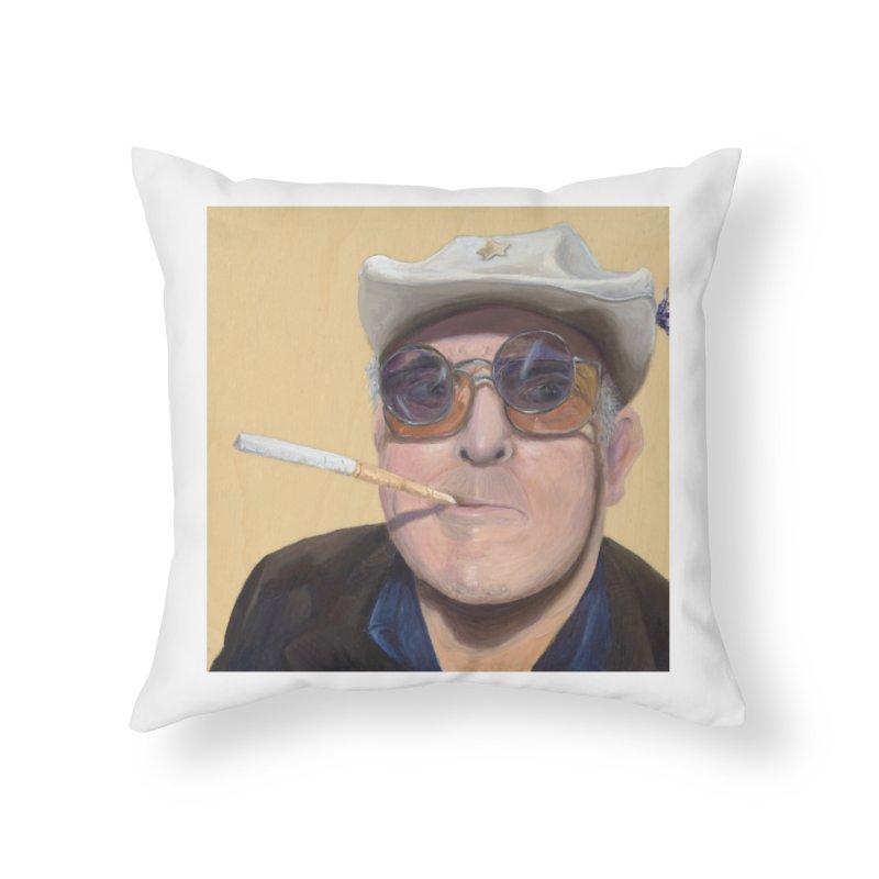 Ralph Steadman Home Throw Pillow by mybadart's Artist Shop