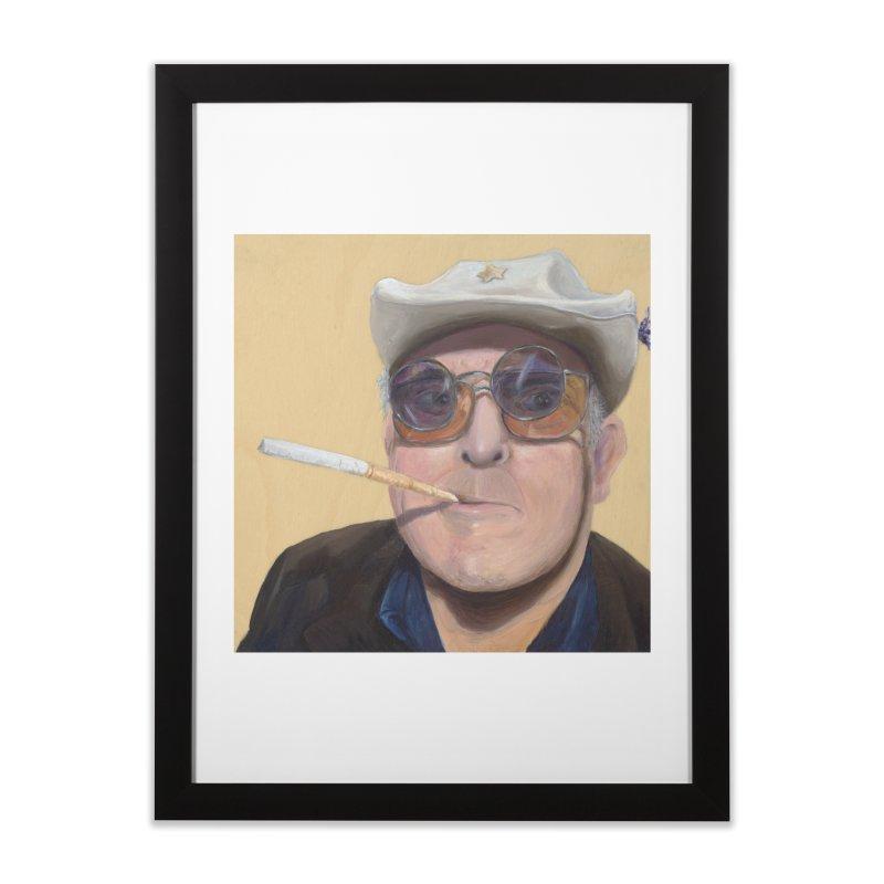 Ralph Steadman Home Framed Fine Art Print by mybadart's Artist Shop