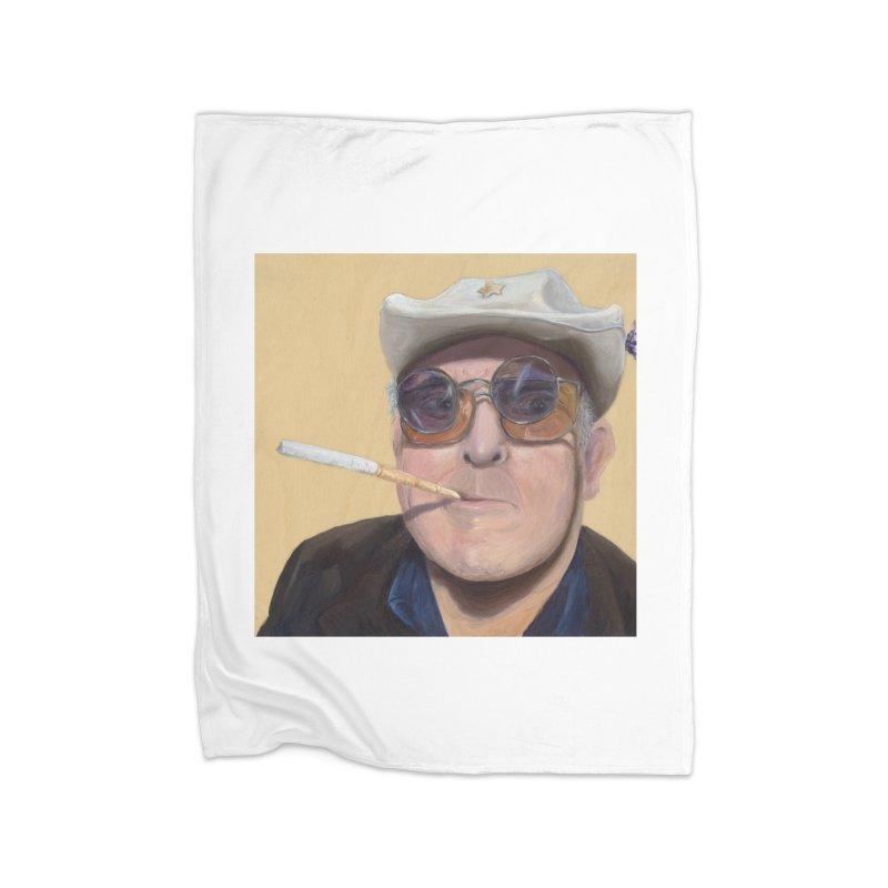 Ralph Steadman Home Blanket by mybadart's Artist Shop