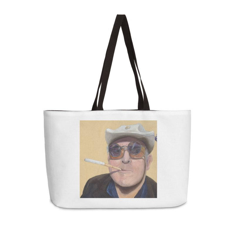 Ralph Steadman Accessories Weekender Bag Bag by mybadart's Artist Shop