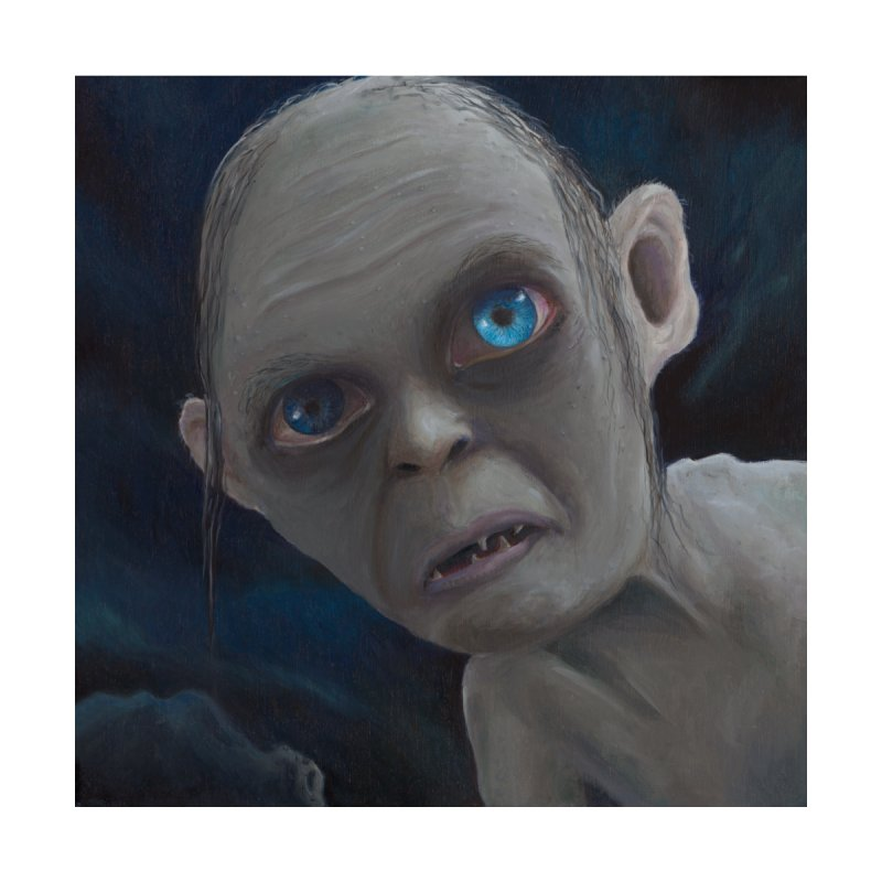 Smeagol Home Framed Fine Art Print by mybadart's Artist Shop