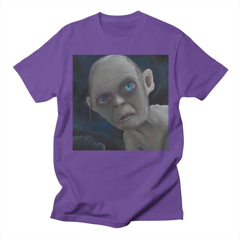 Smeagol Men's Regular T-Shirt by mybadart's Artist Shop