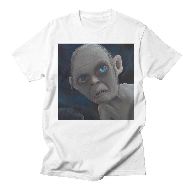 Smeagol Women's Regular Unisex T-Shirt by mybadart's Artist Shop